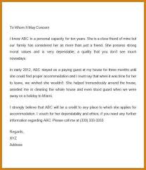 Reference Letter For A Friend Letter Format Template