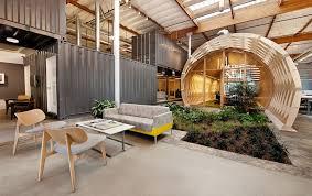 unique office designs. modernuniqueofficeinteriordesignwithindoorgarden unique office designs