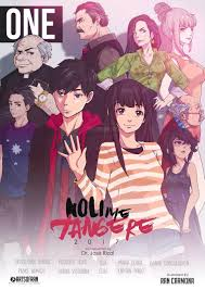 awesome cover ilration and modern interpretation of the characters from noli me tangere by artist ran carmona