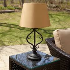 outdoor string lighting diy without electricity home depot garden solar table lamps battery operated ideas
