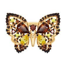 <b>Брошь</b> «<b>Бабочка</b>» <b>SOKOLOV</b> – купить в официальном интернет ...