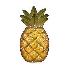 pineapple metal wall art pineapple wall decor inspirational pineapple metal wall art bed bath amp indian