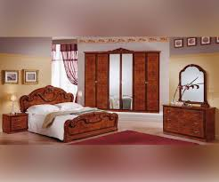 Italian Bedroom Set mcs gioia gioia walnut finish italian bedroom set bedsdirectuknet 6431 by guidejewelry.us