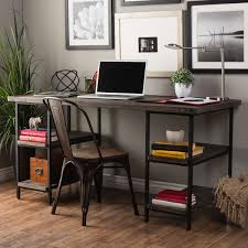 loft office furniture. Carbon Loft Renate Reclaimed Wood And Metal Office Desk Furniture