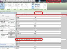 architecture schedule. architecture schedule
