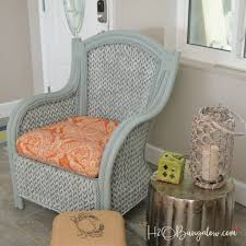 painted wicker furnitureLearn how to easily paint wicker furniture with a HomeRight Finish