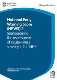 Body Temperature Chart Nhs National Early Warning Score News 2 Rcp London