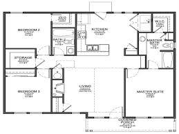 small 3 bedroom house floor plans 4 bedroom house