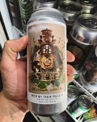 Cerveja artesanal When My Train Pulls In New England Triple IPA – Octopus 473ML