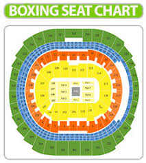 Msg Boxing Seating Chart 2019