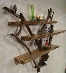 #15 Sculptural Branches Sliced by Driftwood Planks