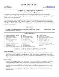 Professional Electrical Engineer Sample Resume 2 Engineering
