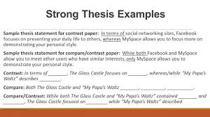 example of comparing and contrasting essays comparison essay thesis example similarities essay examples