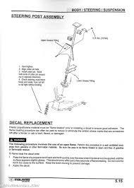 Polaris Vin Chart 2000 Polaris Xplorer 250 400 Atv Service Manual