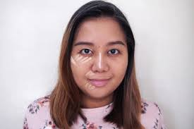 check out the right side your left of my face in the below photo and see how much the concealers brightened up my face i like that these are creamy and