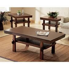 Walnut Living Room Furniture Sets Discount Coffee Table Sets Walnut Steel Coffee Table Hammered