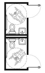 Accessible Bathroom Layout Set Simple Inspiration Ideas