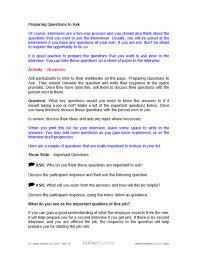 Questions For Second Interview Preparing For Job Interviews Training Course Materials Training