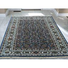 gray oriental rug grey wool and white gold