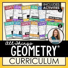 Properties of parallel lines 1. 4 Geometry Curriculum All Things Algebra