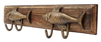 Coat Hook Rack ArtisanalCreations Fish Coat Hook Rack Reviews Wayfair 69
