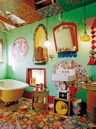 Beyond The Basics A Gallery Of 12 Colorful Bathrooms  Apartment Colorful Bathroom