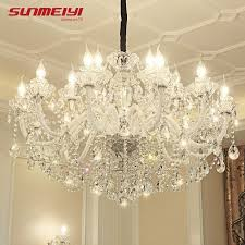 details about luxury led crystal chandeliers lighting modern led large chandeliers for hotel
