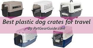 Best Plastic Dog Crates For Travel And Everyday Use Updated