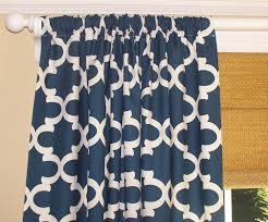 Navy And White Curtains Navy Curtains Dark Blue Curtains Moroccan Dark Blue