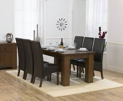beautiful brown dining room chairs with regard to palermo dark oak 180cm table 6 marcello other