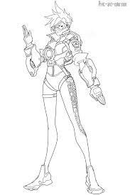Overwatch Coloring Pages Print And Colorcom Coloring Pages To Print And Color L