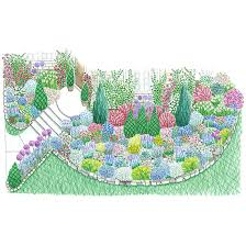 Small Picture Summer Blooming Front Yard Cottage Garden Plan