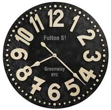 howard miller fulton street 625 557 36 inch large wall clock