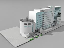 office block design. 3D Architecture Model Of Modern Commercial Office Building Design. Available File Format: .max (Autodesk 3ds Max) V-ray Render. Texture Jpg Block Design