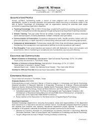 Gallery Of Graduate Student Resume Sample Cv Template Graduate