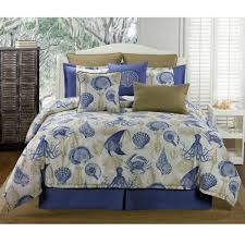 delectably yours com blue reef coastal bedding comforter or duvet bed set by victor