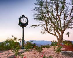 4 face golf post clock mountain vista gc palm desert ca