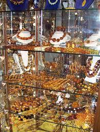 polish jewelry display baltic amber