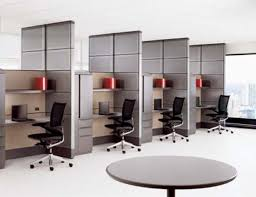 office design companies. Modern Small Office Design With Grey Theme On Each Space Sepparated Decor Included Swivel. Interior Companies