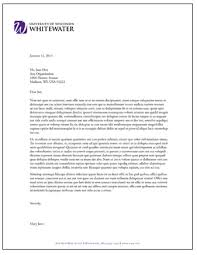 Fax Letter Template Enchanting Letterhead And Fax Templates University Of WisconsinWhitewater