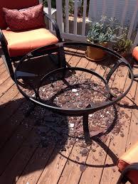 mainstays pyros 5 piece patio conversation set grey seats 4
