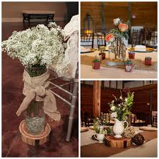 Stunning Rustic Wedding Decorations.centerpieces.collage Has Rustic Wedding  Decorations