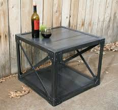 metal industrial furniture. Handmade Wood \u0026 Scrap Metal Industrial Coffee Table Urban By Jreal, $595.00 Furniture