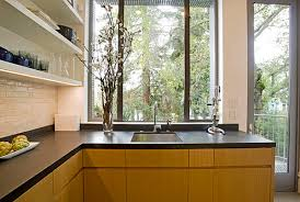 kitchen 10 black laminate countertop in a san francisco kitchen three fashionable and inexpensive countertop solutions