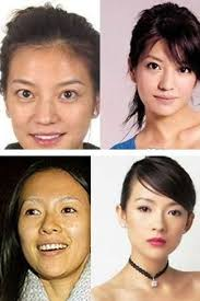 before and after make up top wanese actress vicki zhao aka zhao