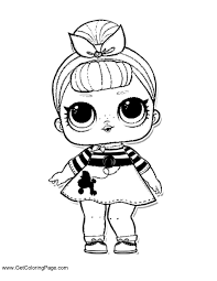 Lol Surprise Doll Coloring Pages Sis Swing Coloring Book Get