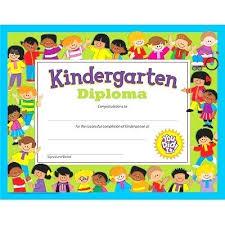 Kindergarten Diploma Template Preschool Diploma Template Free