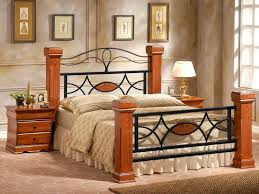 wood bed frame king. Omega Wooden Bed Frame - KING SIZE (5\u00270) Wood King M