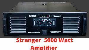 The Best Stranger 5000 Watt Amplifier Price In India