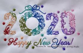 Image result for happy new year 2020 images needlework